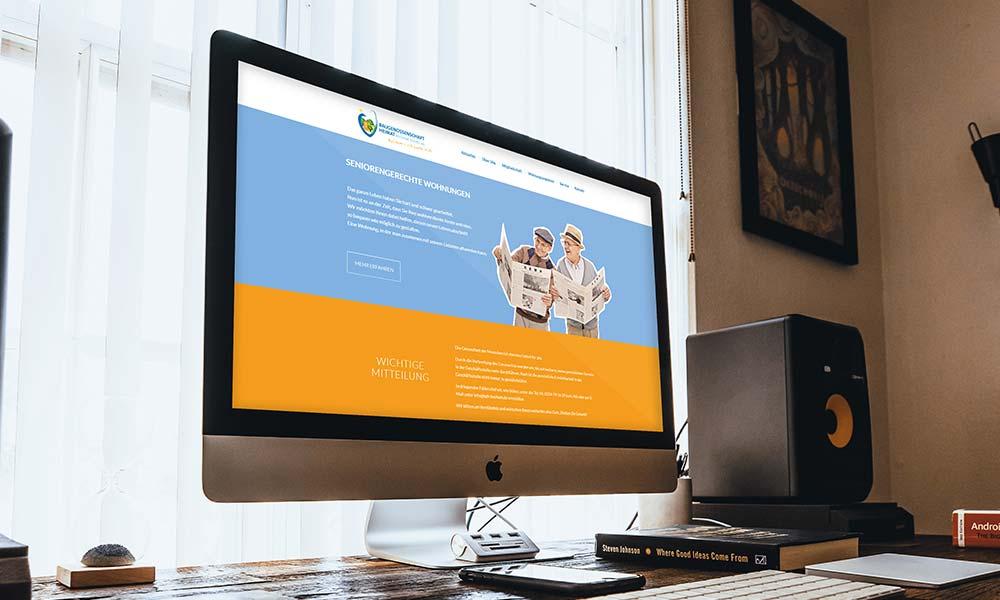 Homepage Web design von Werbeagentur Bochum Gladbeck
