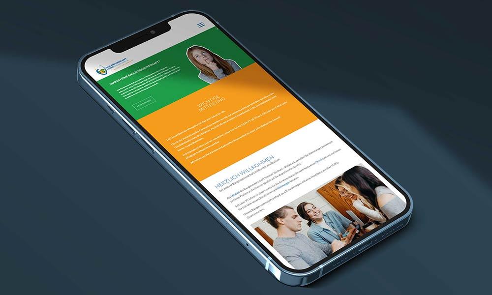responsive-homepage Web Design von Werbeagentur Bochum Gladbeck