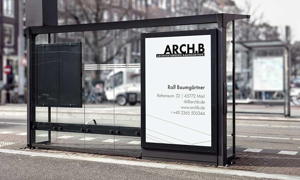architekt aussenwerbung-design-werbeagentur-bochum-gladbeck