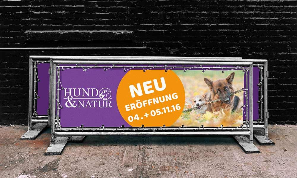hundeladen banner-design-werbeagentur-bochum-gladbeck