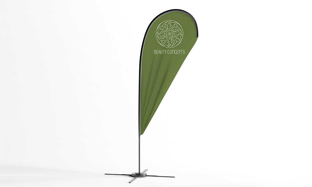 beauty concept beachflag-design-werbeagentur-bochum-gladbeck