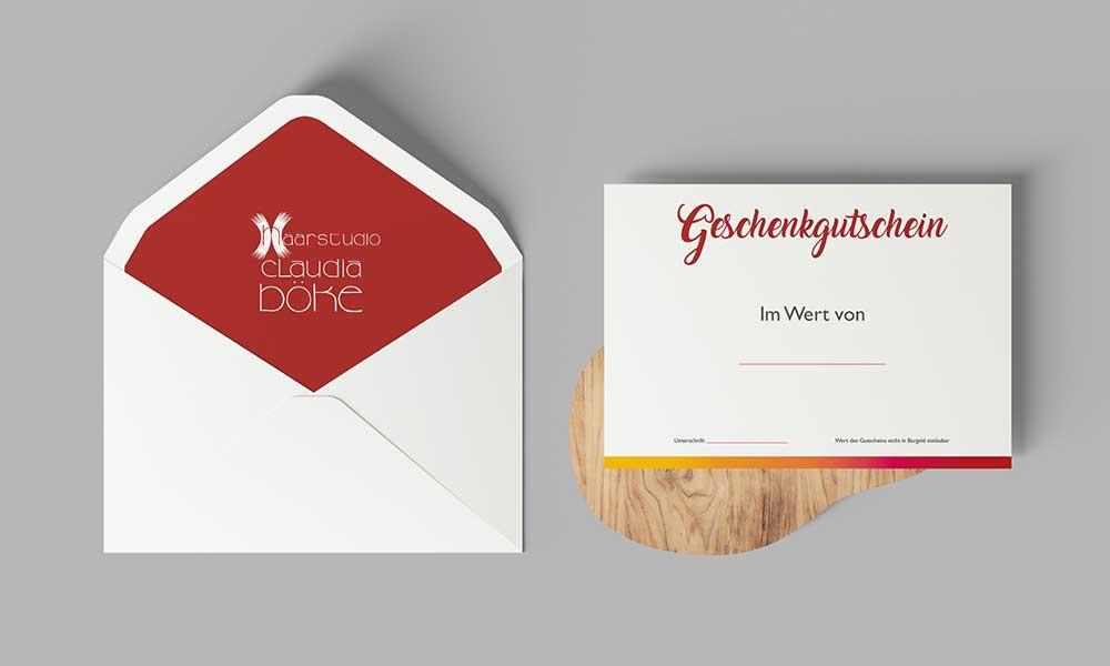 gutschein briefumschlag-design-werbeagentur-bochum-gladbeck