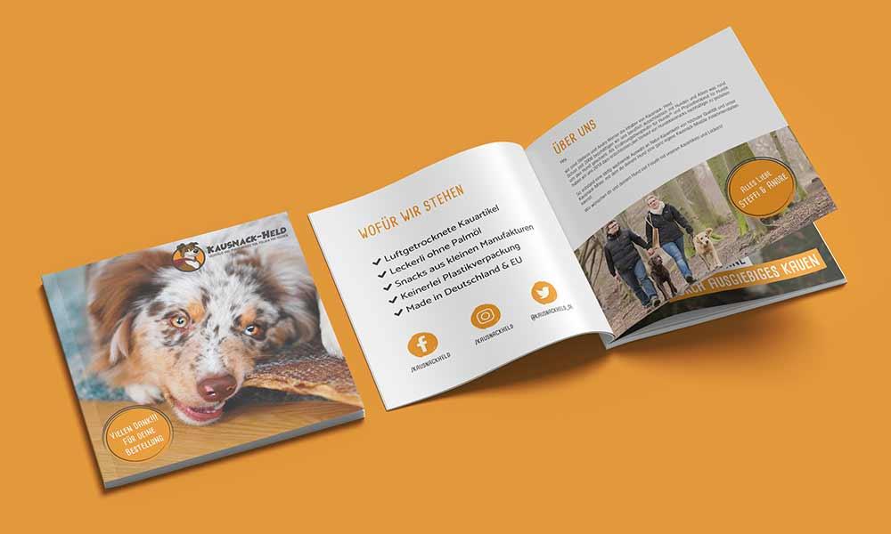 hundeernährung broschuere-design-werbeagentur-Bochum-gladbeck