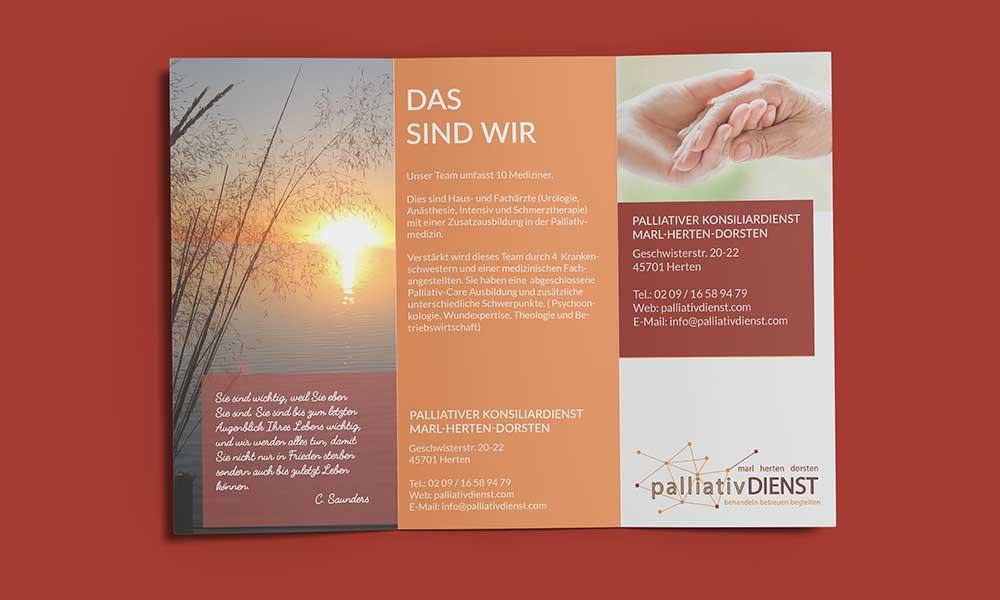 palliativdienst flyer-design-werbeagentur-bochum-gladbeck