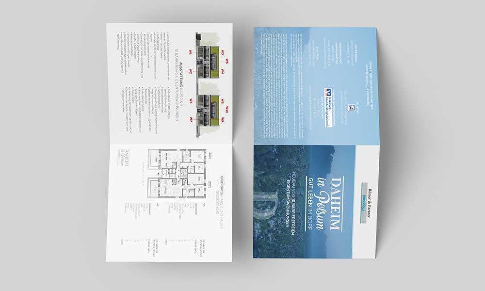 flyerdesign immobilie-werbeagentur-bochum-gladbeck