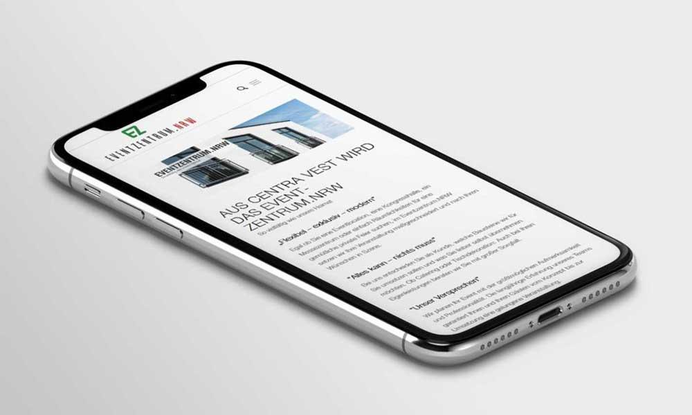 eventzentrum homepage-design-werbeagentur-bochum-gladbeck