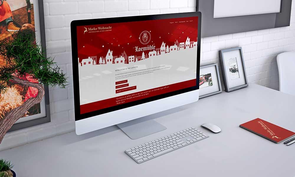 weihnachtsmarkt homepage-design-werbeagentur-bochum-gladbeck