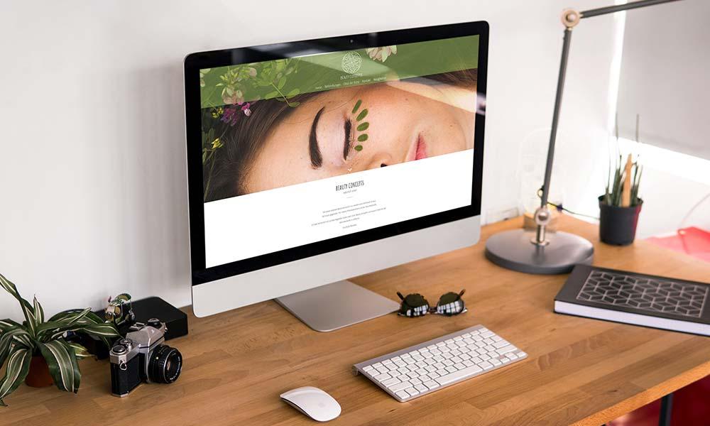 beauty concept homepage-design-werbeagentur-bochum-gladbeck
