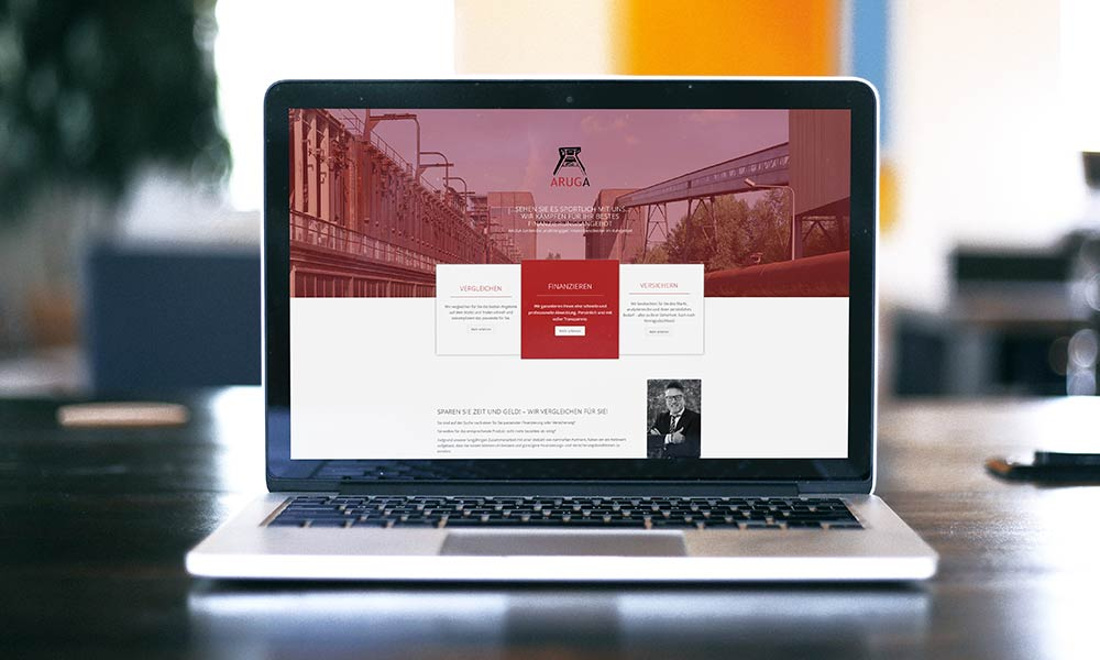 baufinanzierung aruga homepage-design-werbeagentur-gladbeck-bochum