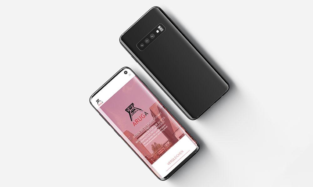 mobile homepage-design-werbeagentur-gladbeck-bochum