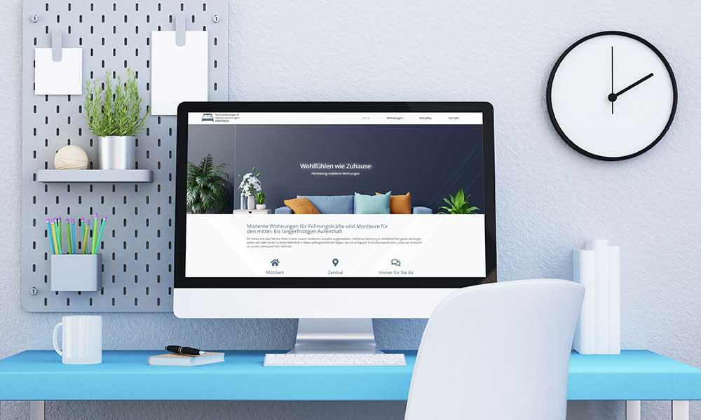 ferienwohnung homepage design-werbeagentur-bochum-gladbeck