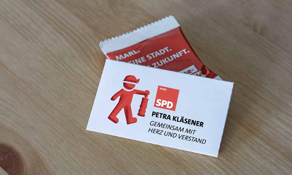 parteiwerbung spd individuelle-visitenkarten-werbeagentur-bochum-gladbeck