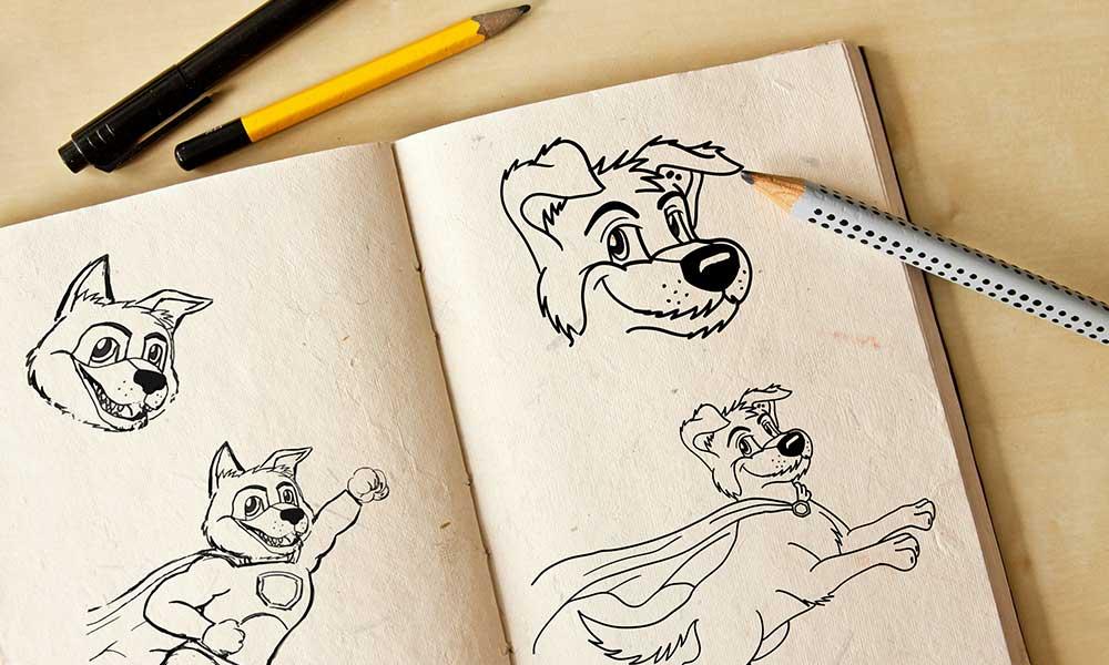 hund logodesign-werbeagentur-Bochum-gladbeck