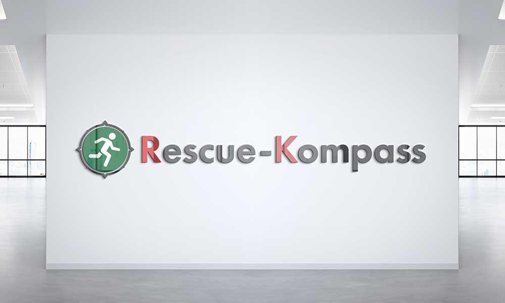 rescue kompass logodesign-werbeagentur-bochum-gladbeck