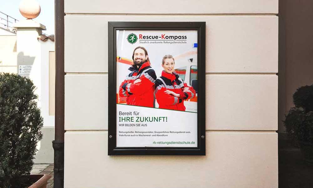 rettungsdienstschule plakatdesign-werbeagentur-bochum-gladbeck