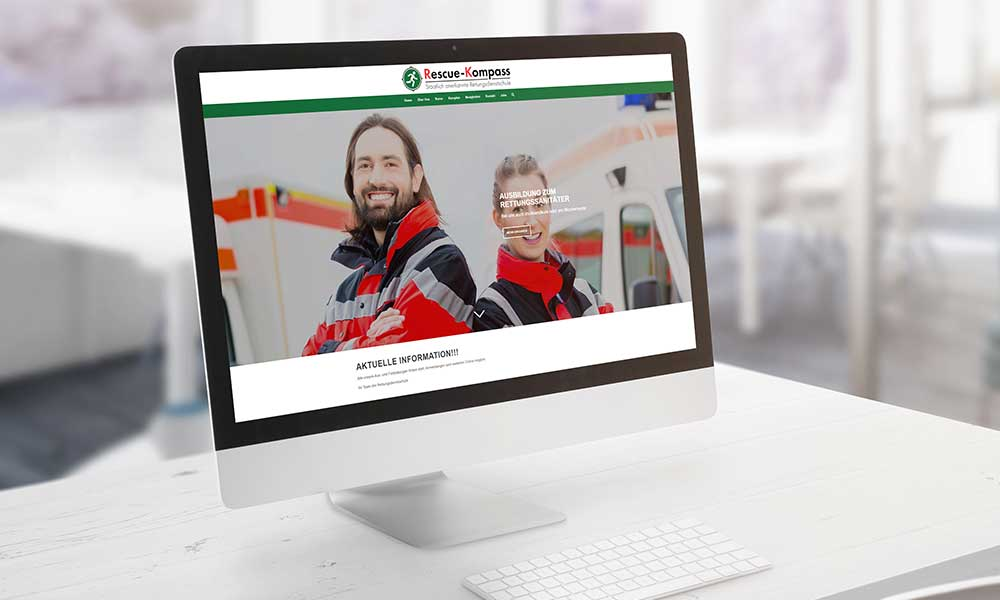 rettungsdienstschule homepage shopsystem-werbeagentur-bochum-gladbeck