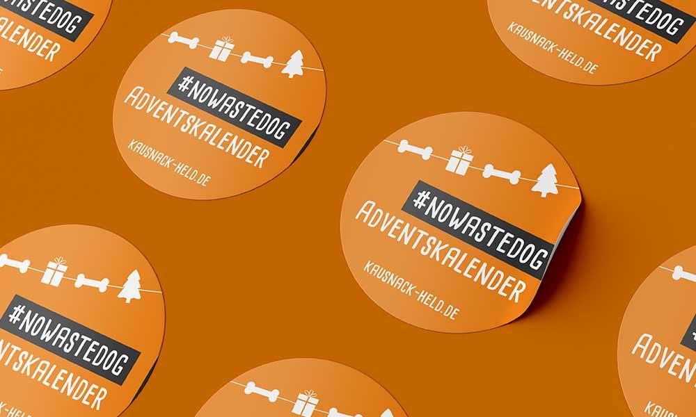 hundefutter advent sticker-design--werbeagentur-Bochum-gladbeck