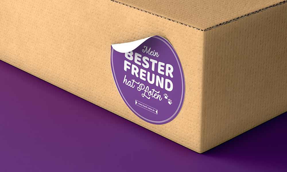hundefutter sticker-design-werbeagentur-bochum-gladbeck