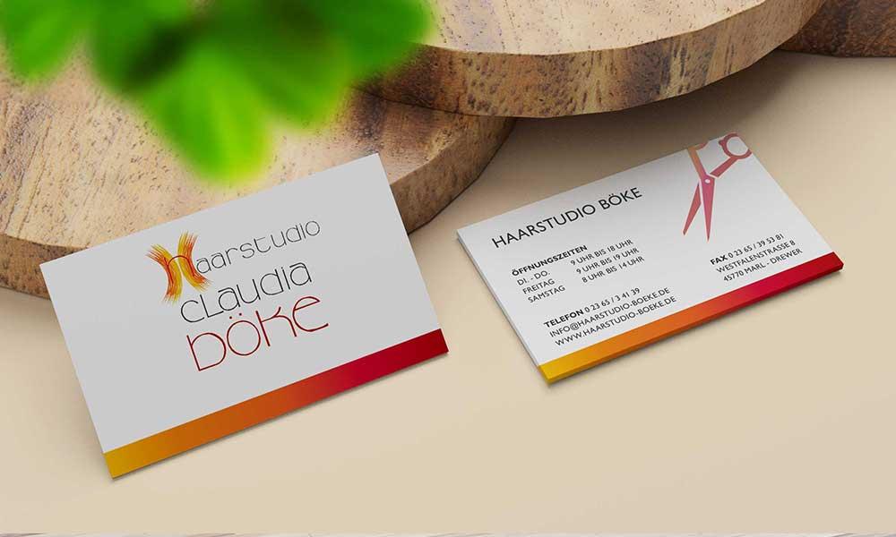 friseur visitenkarten-design-Werbeagentur-bochum-gladbeck