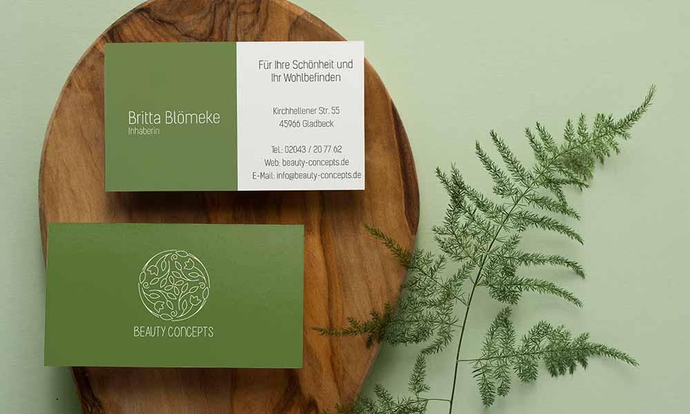 kosmetik visitenkarten-design-werbeagentur-bochum-gladbeck