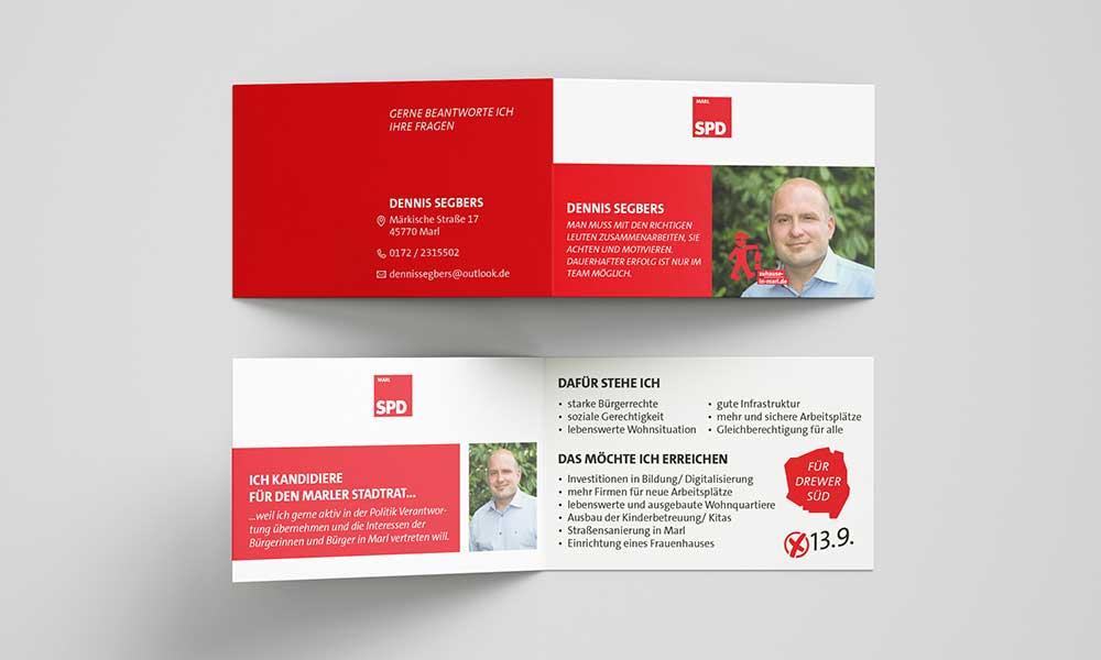 wahlkampf spd visitenkarten-design-werbeagentur-bochum-gladbeck