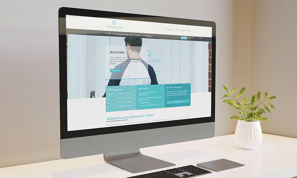 zahnarzt webdesign-werbeagentur-bochum-gladbeck